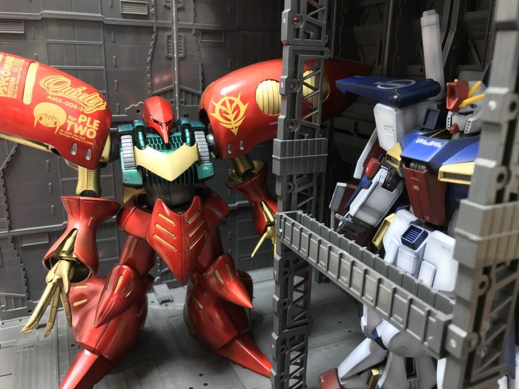 MG キュベレイMk-Ⅱ アピールショット2