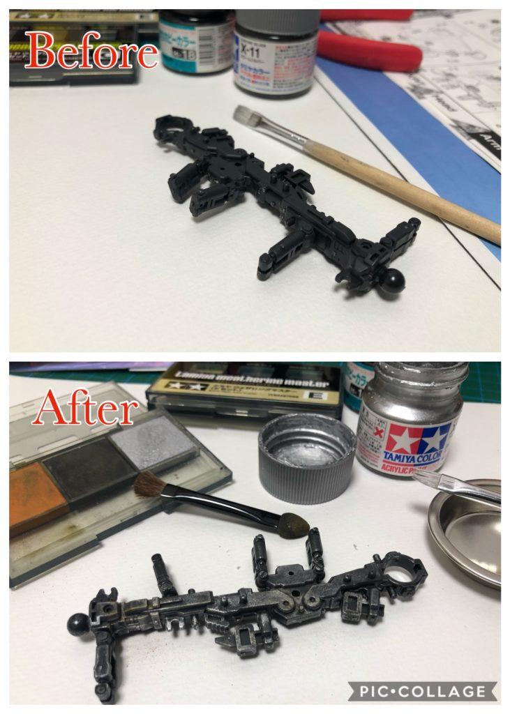 Gundam RX-78-2 制作工程3