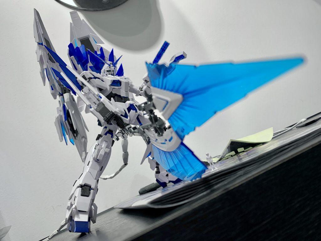 RX-0 ユニコーンガンダム ペルフェクティビリティ アピールショット1