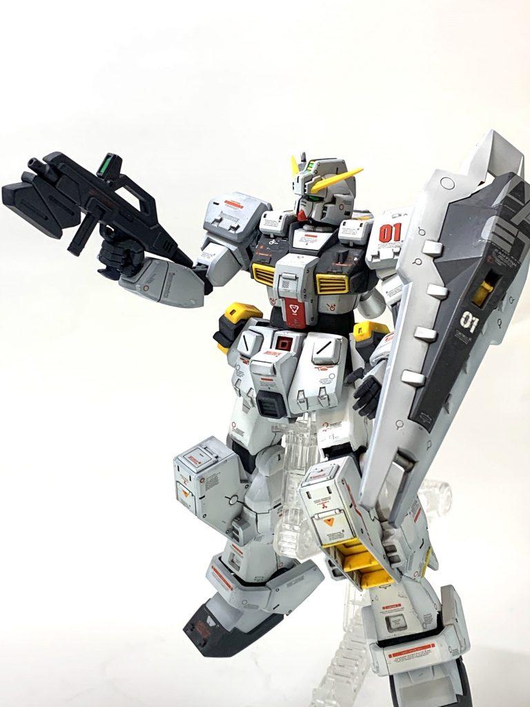 RX-121-1ガンダムTR-1 制作工程3