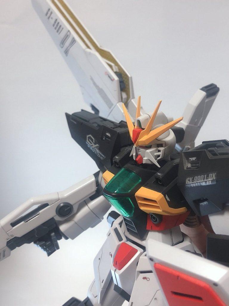 MG ガンダムDX アピールショット2