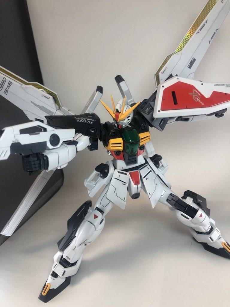 MG ガンダムDX アピールショット4