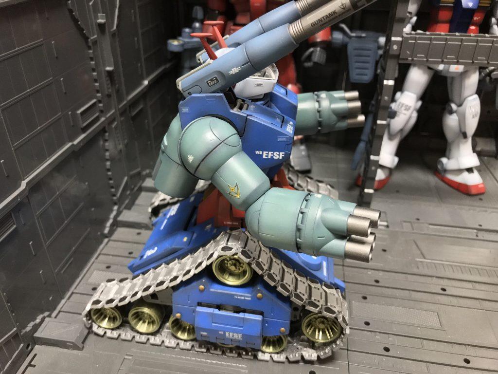 MG ガンタンク アピールショット3