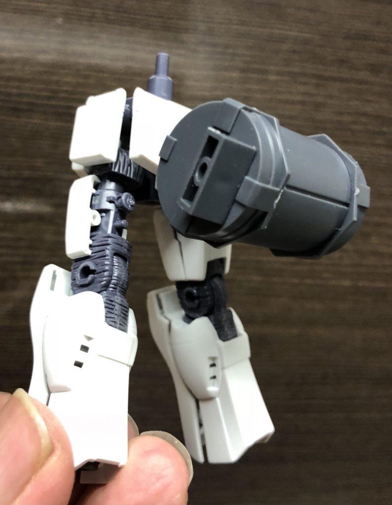 陸戦ガンダムS型 ガトリング装備 制作工程2