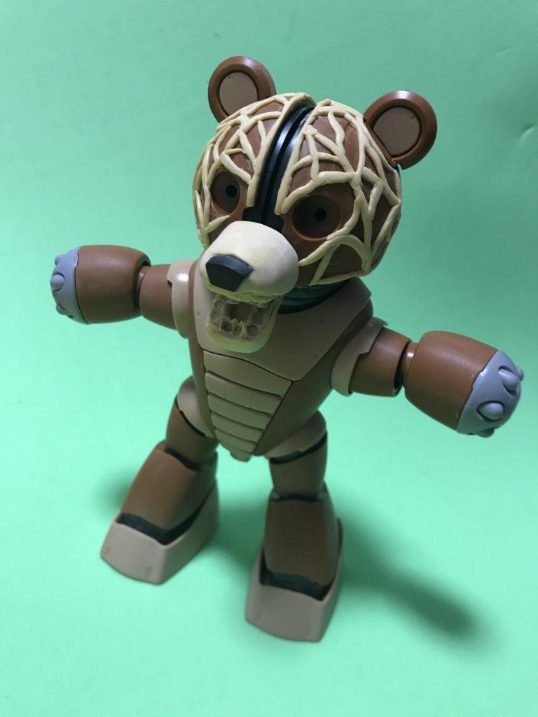 メロン熊(ベア)ッガイ 制作工程1