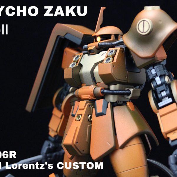 PSYCHO ZAKU Mk-Ⅱ  Daryl Lorentz's custom