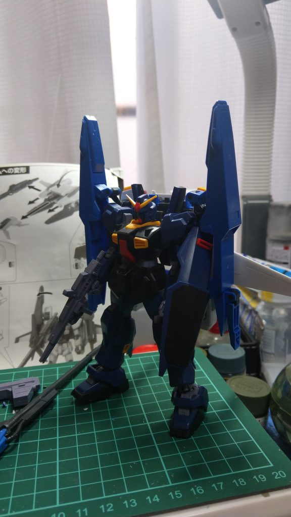 RX-178/FXA05D SUPERGUNDAM 制作工程1
