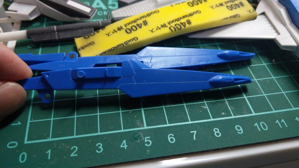RX-178/FXA05D SUPERGUNDAM 制作工程2