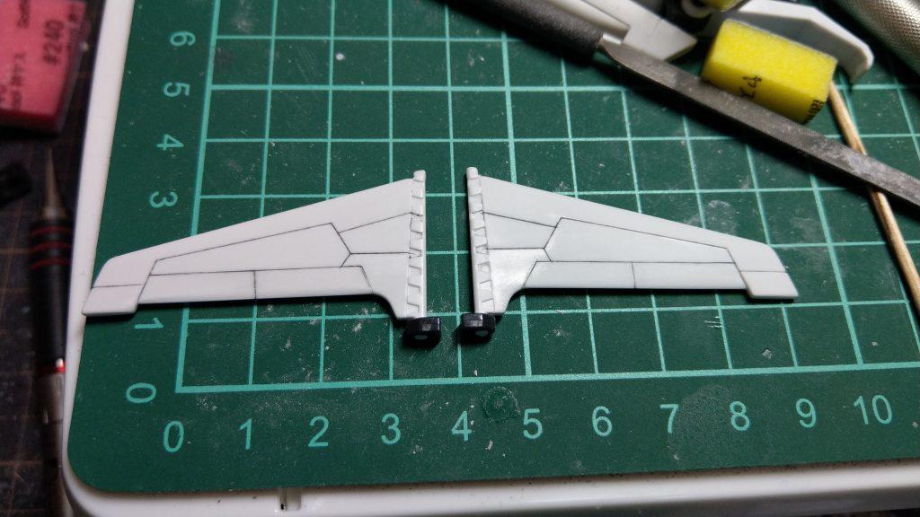 RX-178/FXA05D SUPERGUNDAM 制作工程3