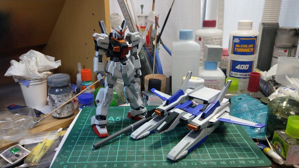 RX-178/FXA05D SUPERGUNDAM 制作工程5