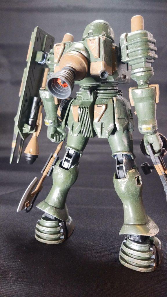 陸戦型ヅダ アピールショット2