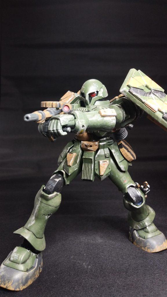 陸戦型ヅダ アピールショット3