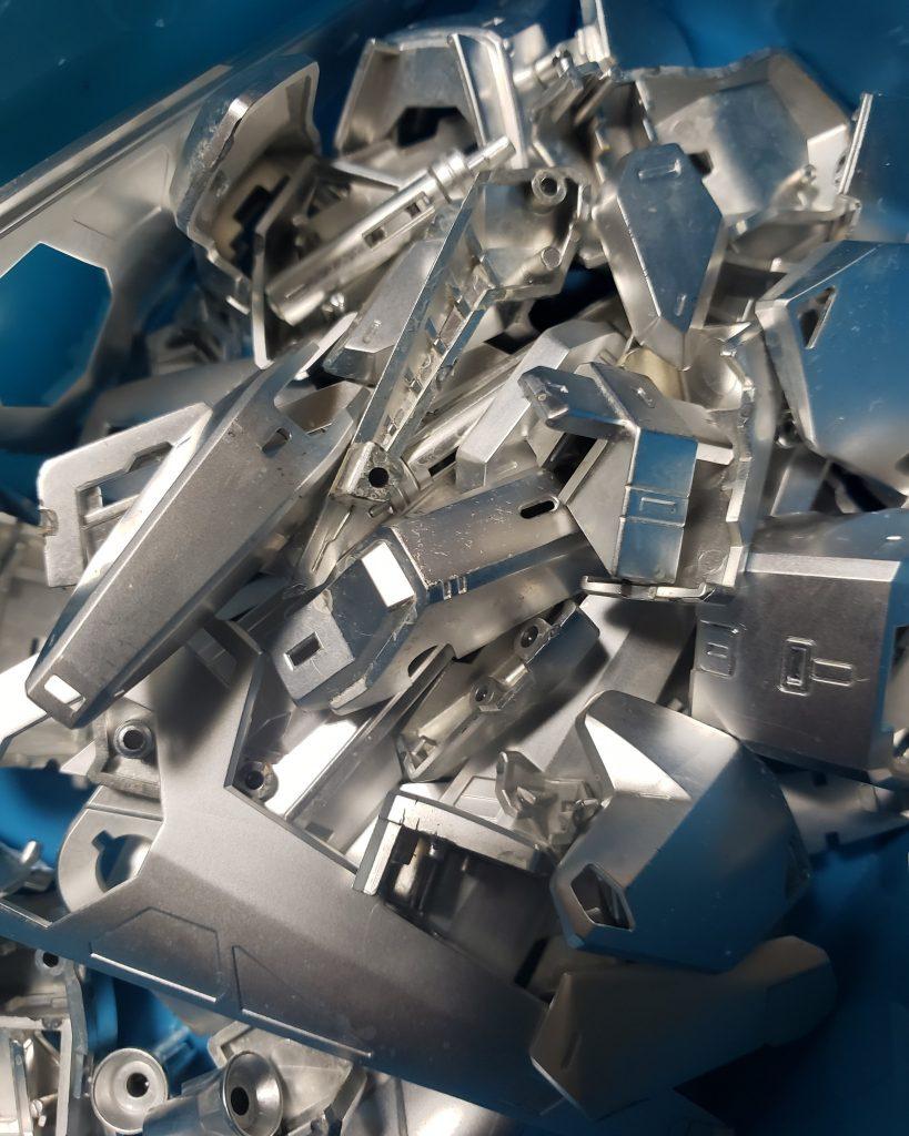 銀の百式 制作工程1