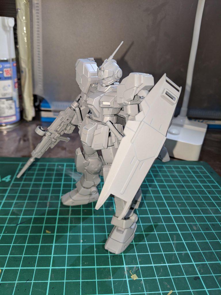 HG ペイルライダー(空間戦仕様) 制作工程3