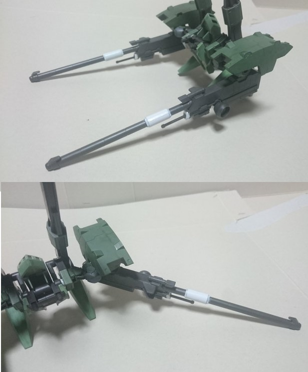 高機動強襲型試験機 制作工程1