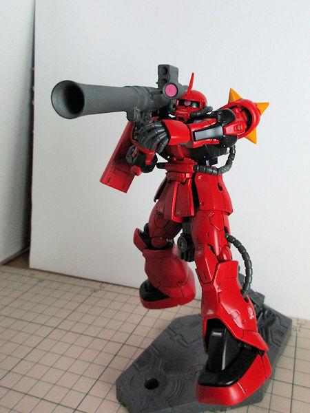 MS-06F・ジョニーライデン専用ザク アピールショット3