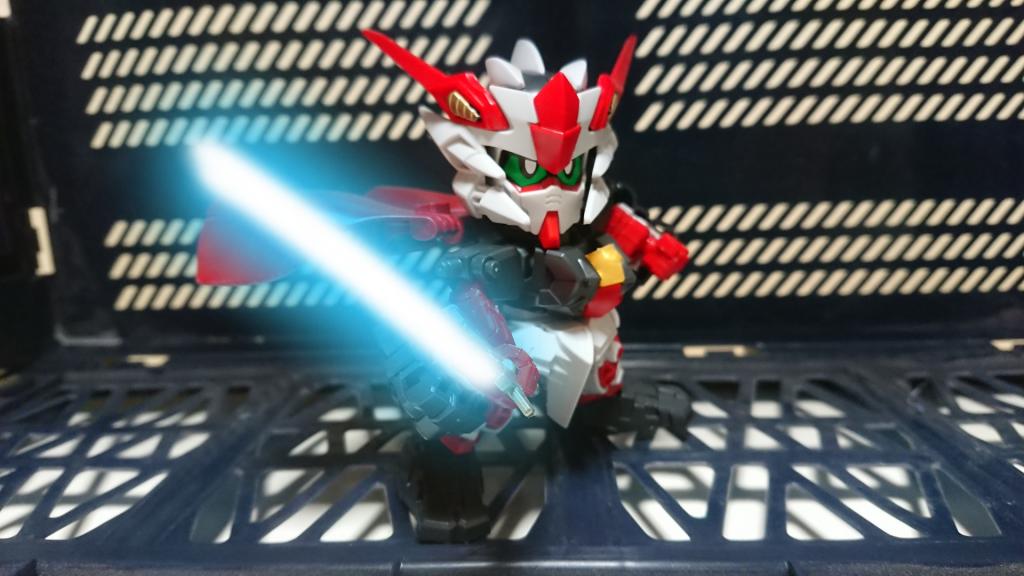 魔法剣士ブレイバーガンダム アピールショット6