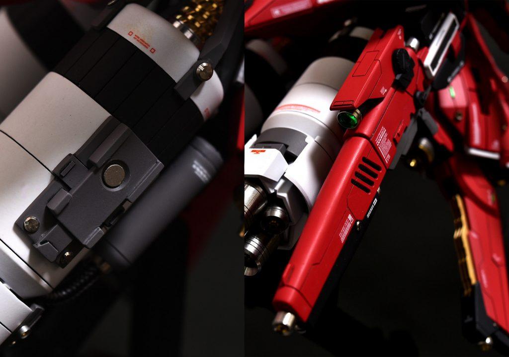 ガンダムTR-6[ヘイズルⅡ] 制作工程3