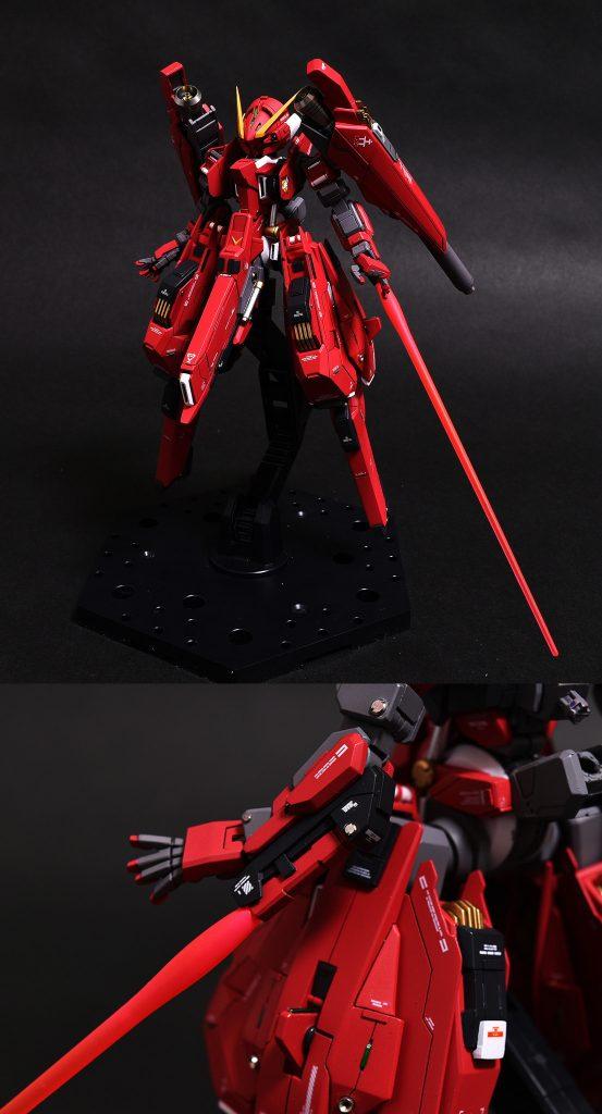ガンダムTR-6[ヘイズルⅡ] 制作工程8