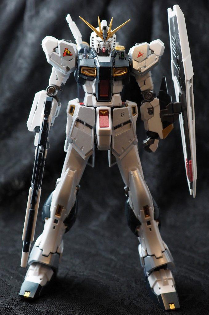 RG νガンダム(実戦装備後) アピールショット1