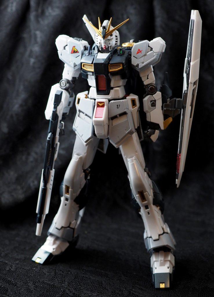 RG νガンダム(実戦装備後) アピールショット2