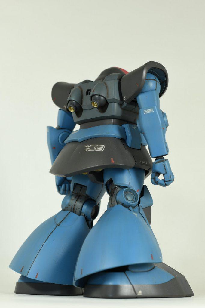 HGドム ランバ・ラル専用機 アピールショット2