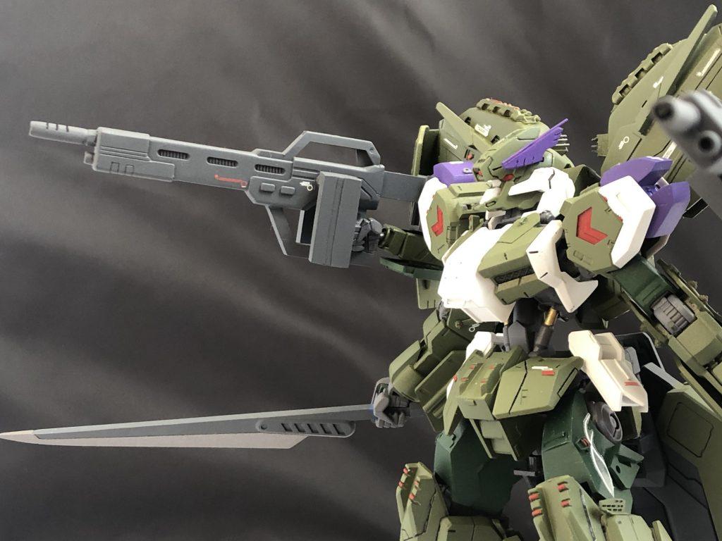 """Gundam・Gusion-Rebake""""Whezavy"""" アピールショット2"""