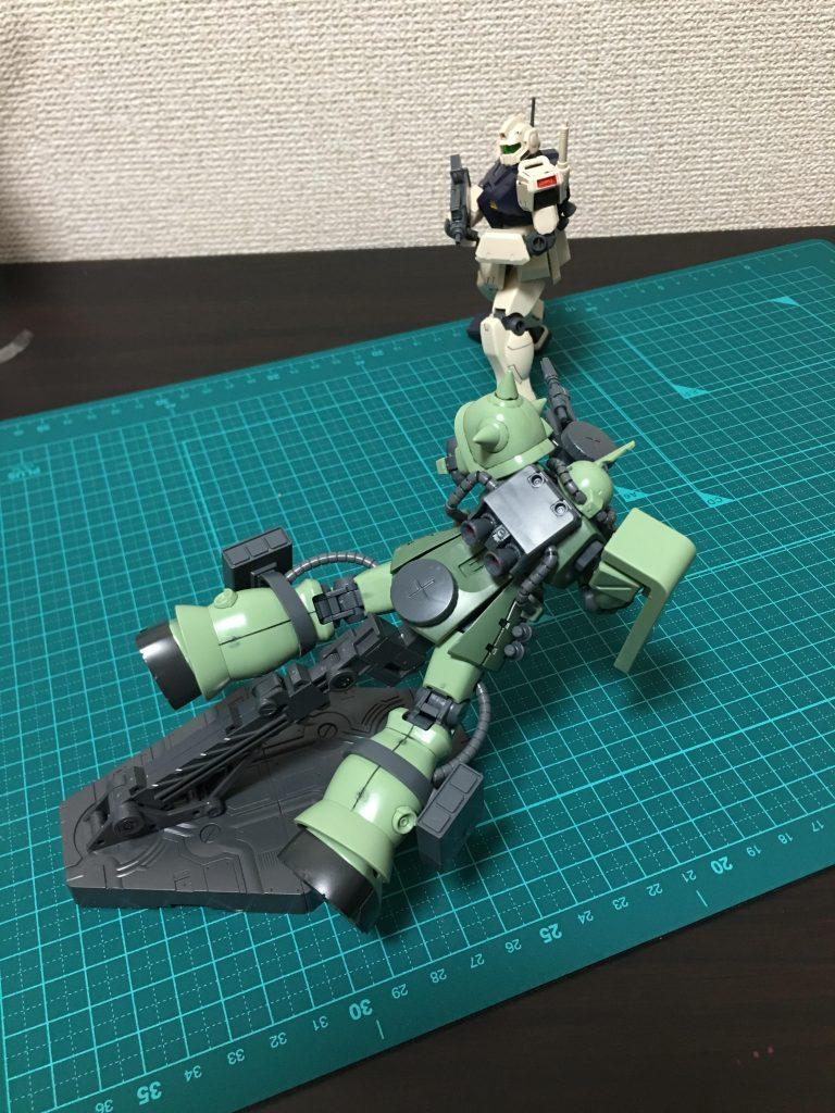 量産型同士による接近戦 アピールショット2
