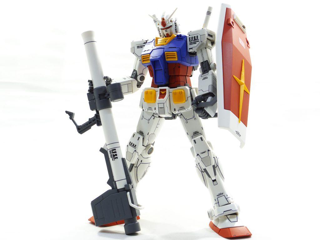 MG ガンダム オリジン版 アピールショット1