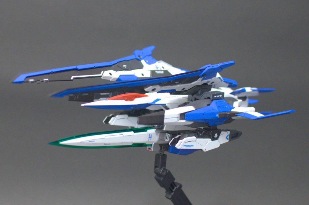 MG ダブルオーザンライザー 制作工程2