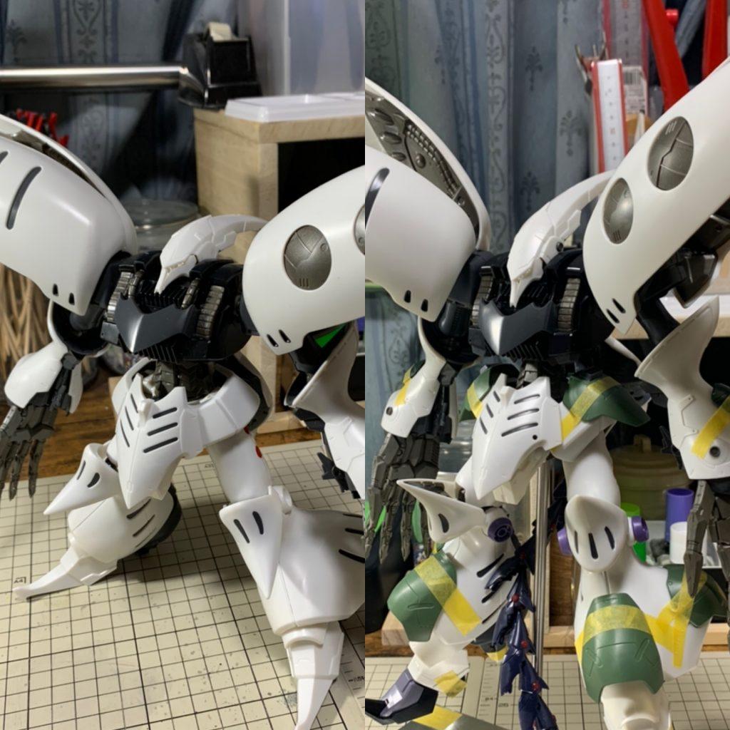 MG キュベレイダムド ~獄魔~ 制作工程5