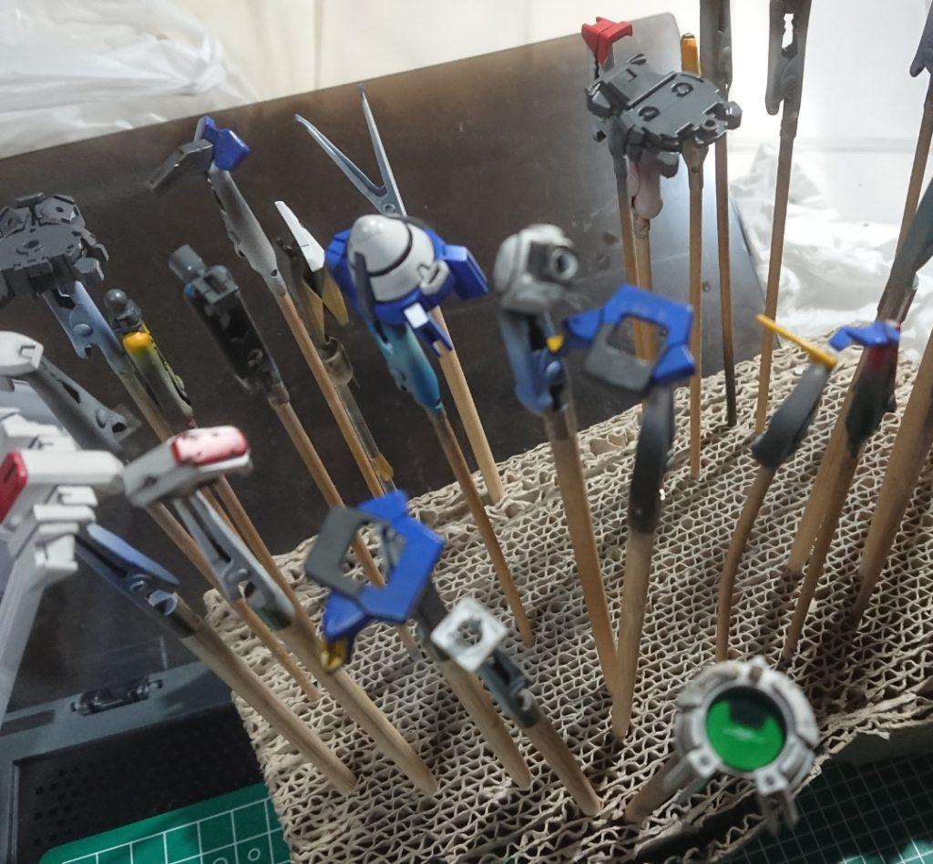 HG00 ガンダムエクシアリペア 制作工程4
