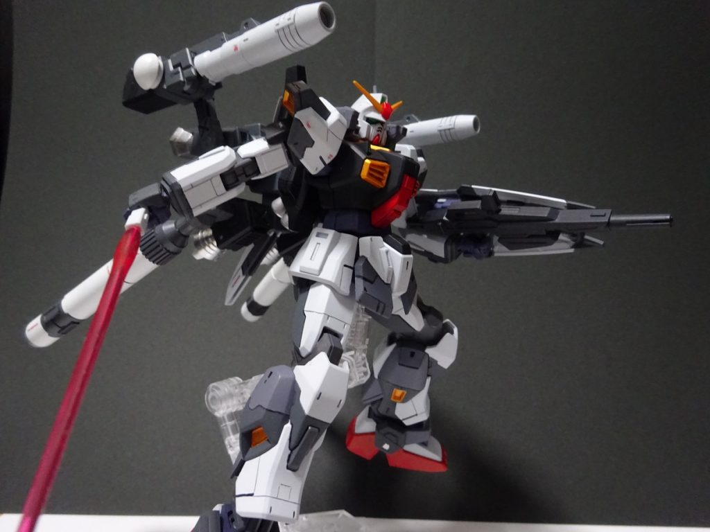ガンダムMk-Ⅱ Plus 制作工程1
