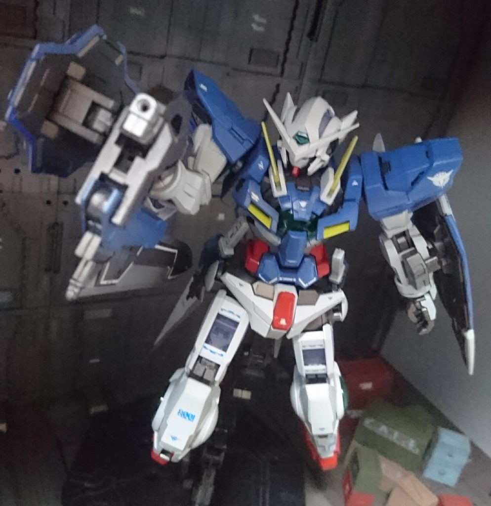 MG ガンダムエクシア アピールショット1
