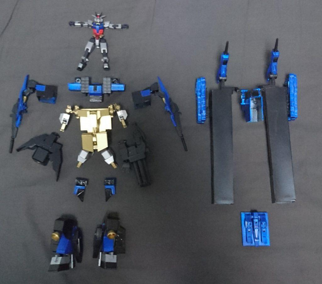 コアガンダム&Exウェポン(typeS) 制作工程5