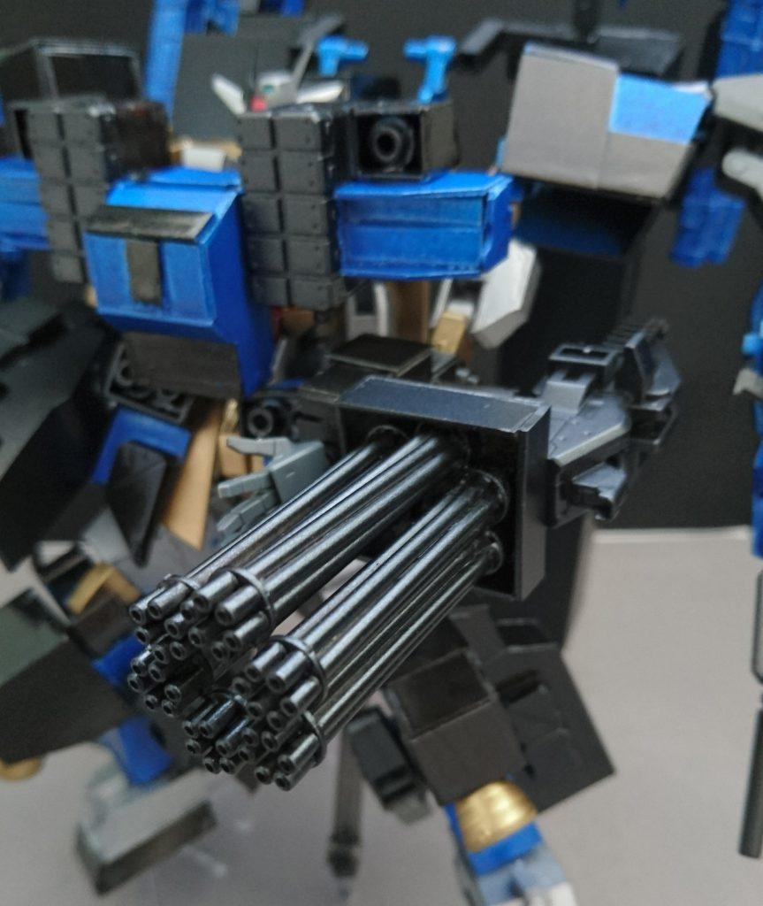 コアガンダム&Exウェポン(typeS) 制作工程1
