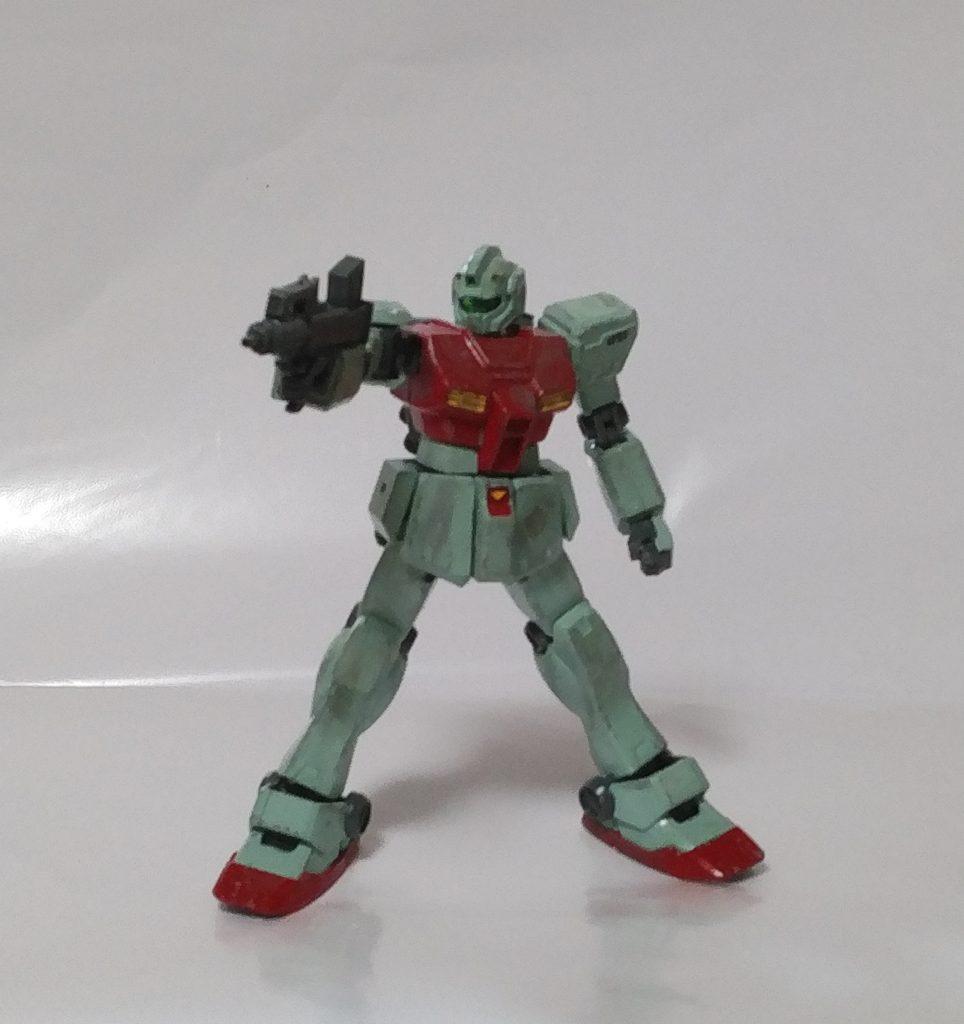初投稿! RGM-79[E] 初期型ジム アピールショット3