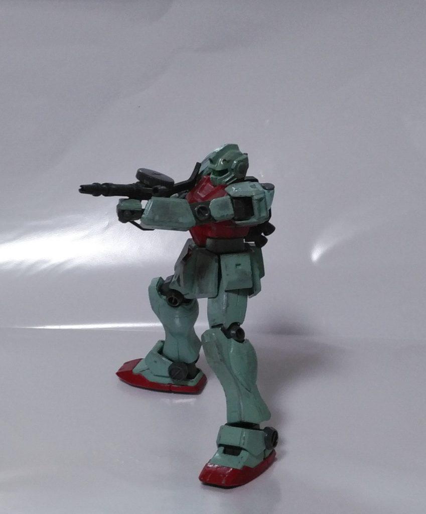 初投稿! RGM-79[E] 初期型ジム アピールショット1