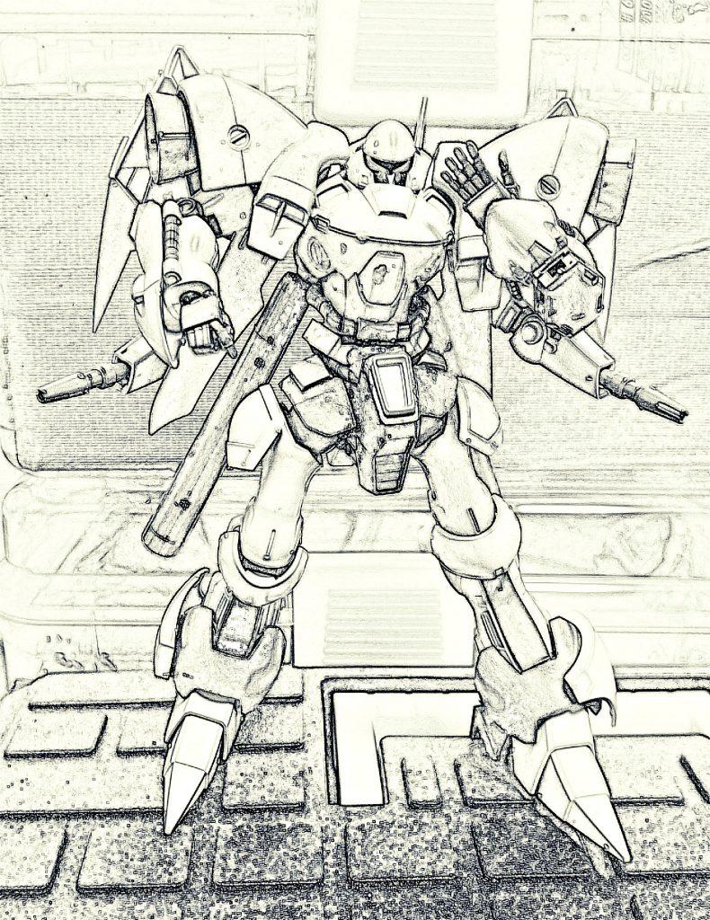 """OldType""「型落ち」AE社所属 特殊護衛任務専用機 制作工程2"
