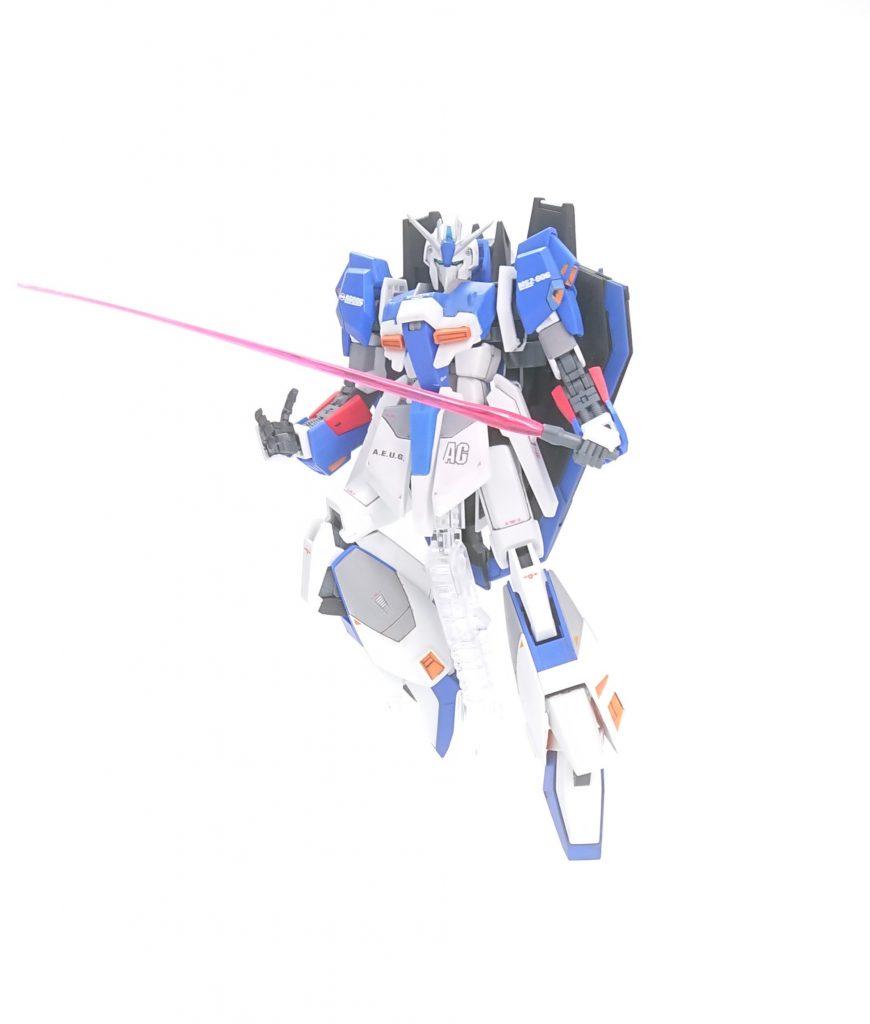【蒼き疾風】Ζガンダムラファール アピールショット6