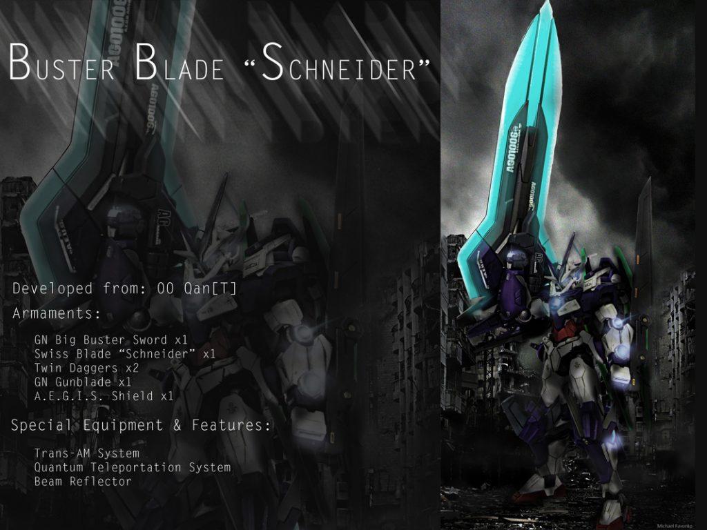 """Buster Blade """"Schneider"""" 制作工程4"""