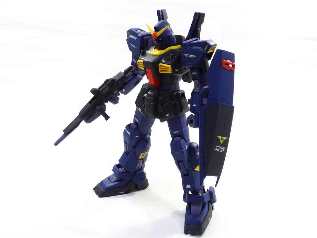 MG ガンダムマークII ティターンズカラー アピールショット3