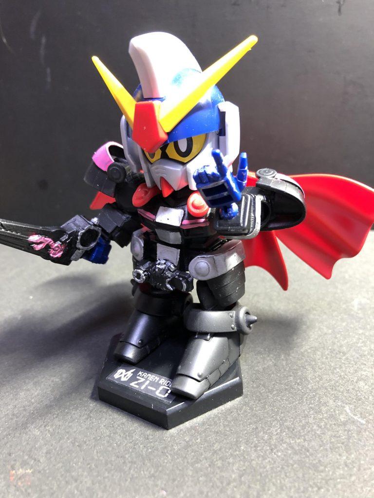 仮面ライダージオウ風SD騎士ガンダム