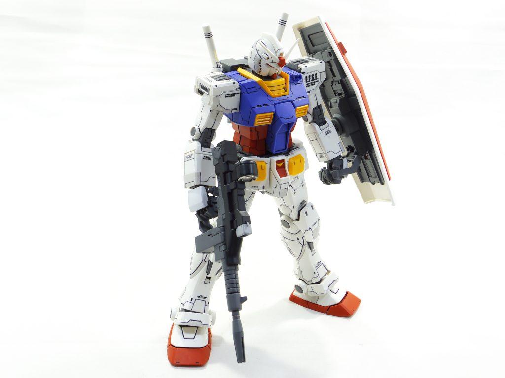 MG ガンダム オリジン版 アピールショット4