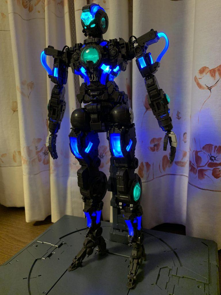 PGエクシア lighting model 制作工程2