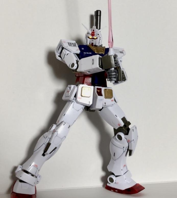 GUNDAM THE ORIGIN RX-78-02 ガンダム アピールショット2