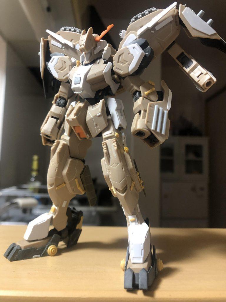 """Gundam・Gusion-Rebake""""Whezavy"""" 制作工程1"""
