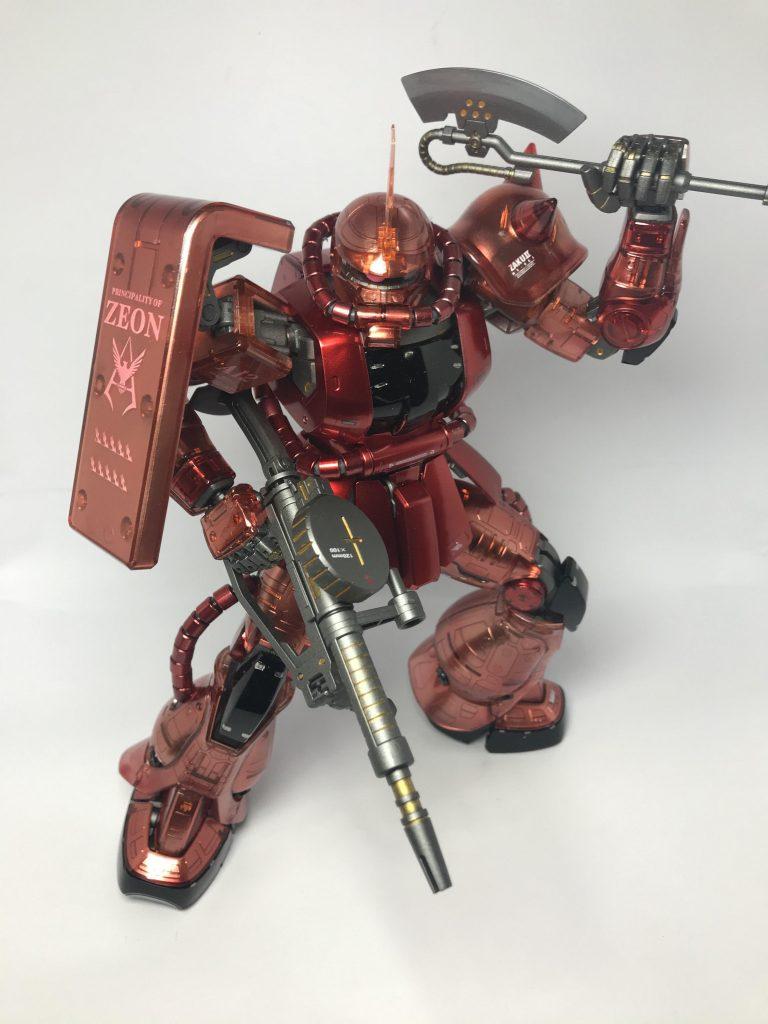 MG シャア専用ザク アピールショット2