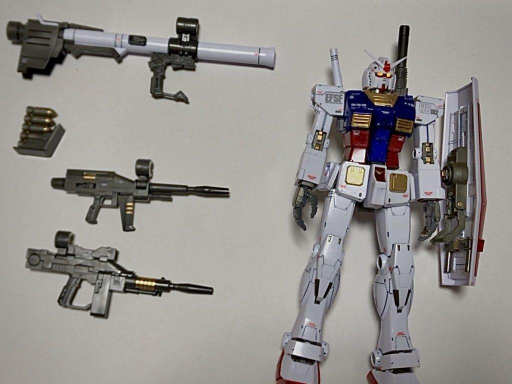 GUNDAM THE ORIGIN RX-78-02 ガンダム アピールショット1