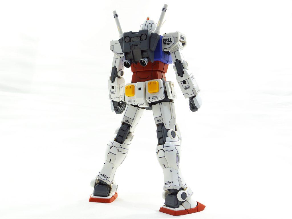 MG ガンダム オリジン版 アピールショット3